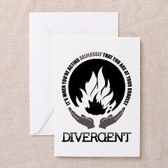Divergent card