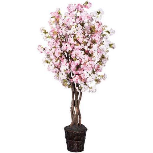 6 Pink Cherry Blossom Deluxe Vickerman Google Shopping Artificial Cherry Blossom Tree Blossom Trees Cherry Blossom Tree