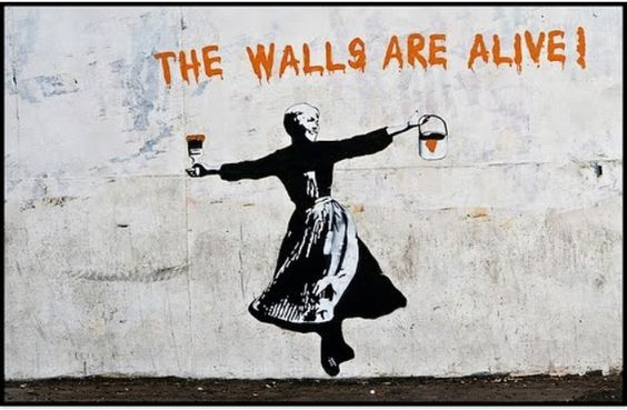 The walls are alive! #graffiti #street #art