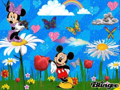 Mickey and Minnie's Spring Romance