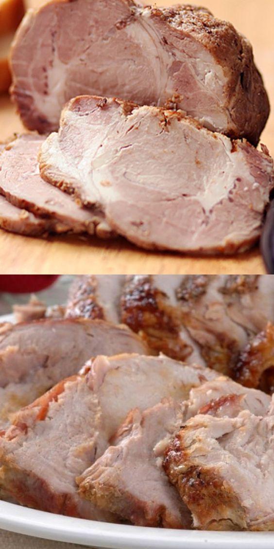 Самый лучший способ приготовить вкусное домашнее мясо. Буженина получается очень сочной.