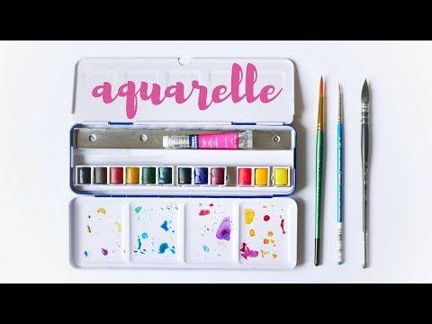 Quel Materiel Pour Debuter A L Aquarelle Petit Budget Youtube