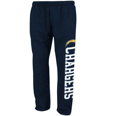 Black navy blue fleece pants san diego chargers and san diego