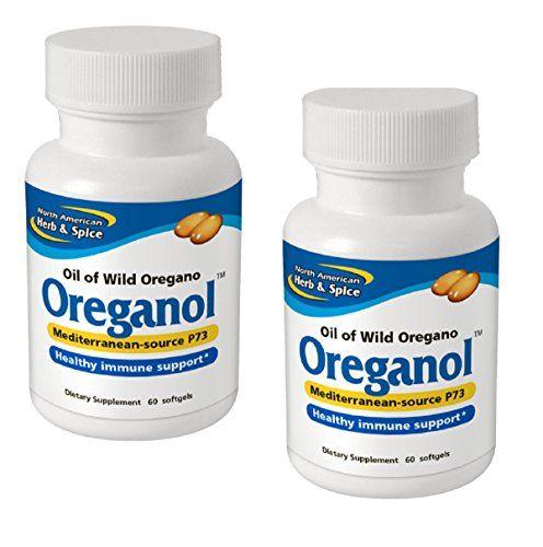 North American Herb And Spice Oreganol Oil Of Wild Oregano P73 60 S Wild Oregano P73 In An Effortless To Acquire Gelcap Mix Of Edi Spices Herbs Oregano