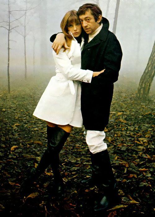 Jane Birkin & Serge Gainsbourg, 1969.