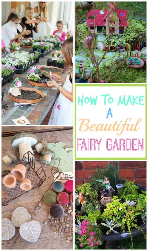 Gnome In Garden: Fairies Garden, How To Make