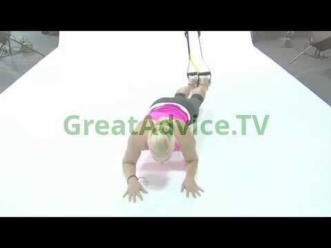 #TRX Plank Pendulum, Very Good For Your Core http://GreatAdvice.TV