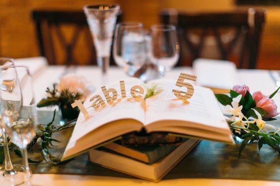 numéro de table livres
