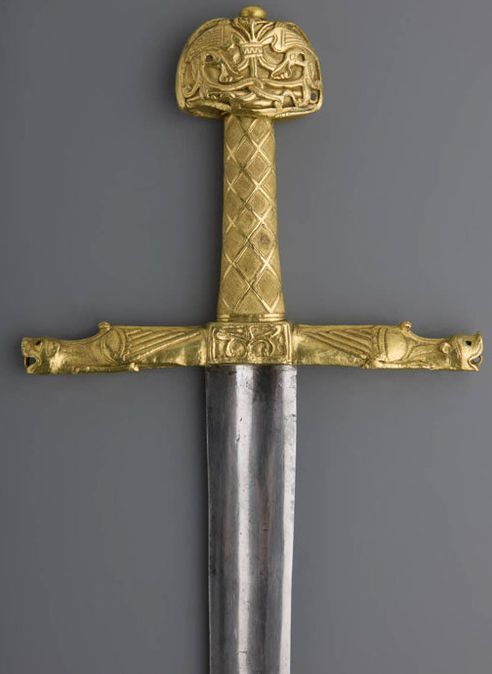 Joyeuse Sword Kings of frances sword 10th-11th centuries (hilt) and ...