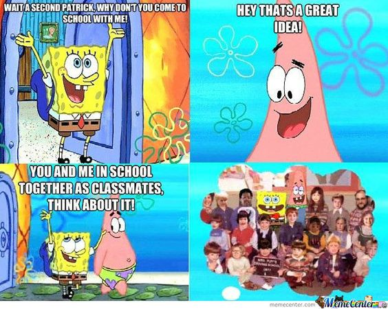 Funniest Spongebob Moments Pictures, My friend an...