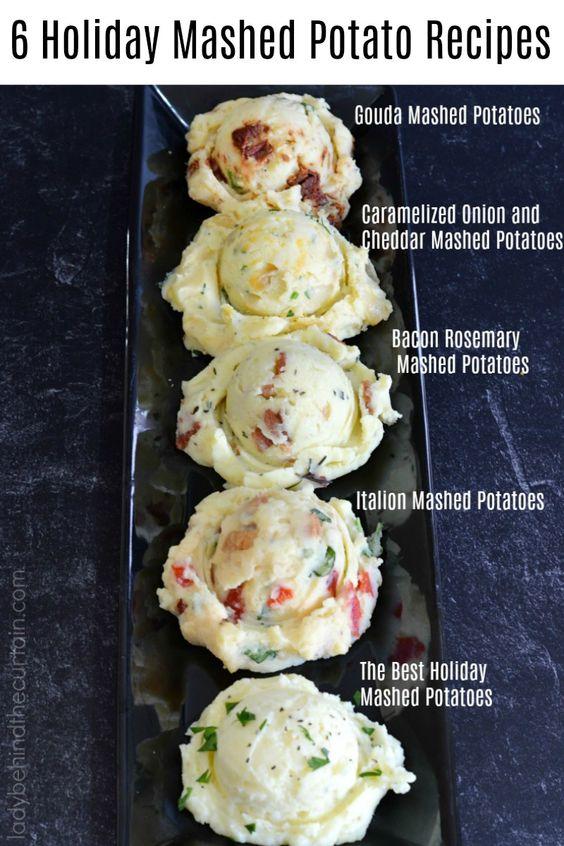 6 Holiday Mashed Potato Recipes