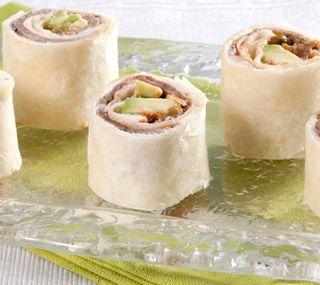 Thrifty Foods - Recipe - Roast Beef Tortilla Pinwheels