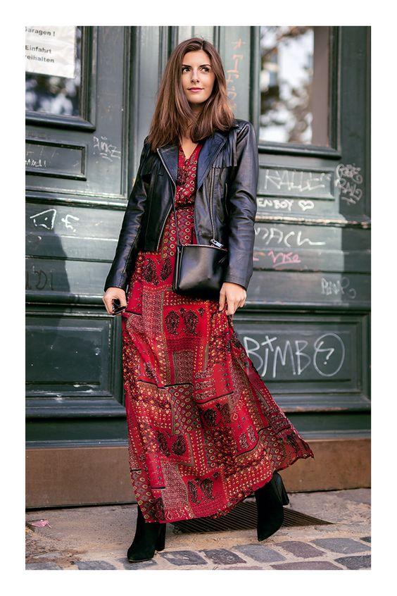 Las mejores ideas para combinar tu vestido favorito con botas