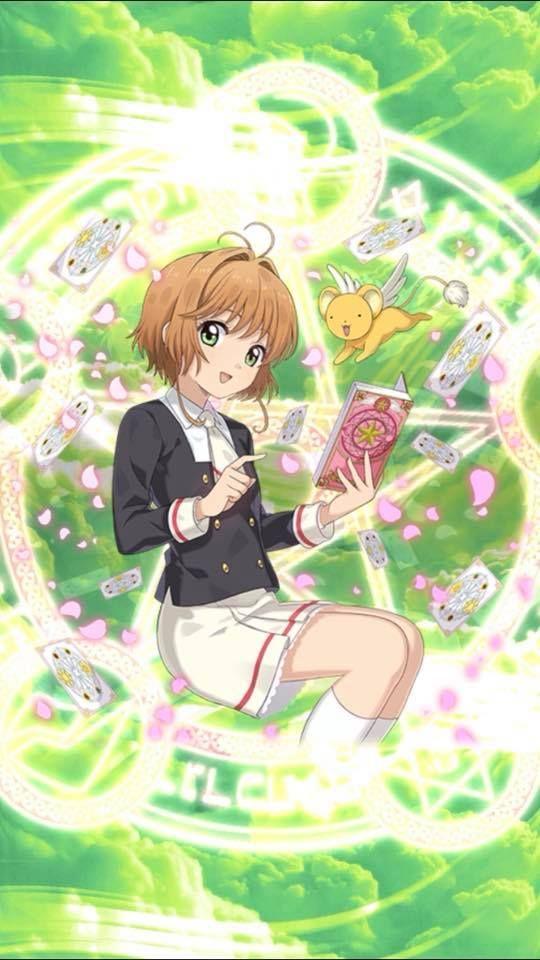 ゴシックは魔法乙女 X カードキャプターさくら クリアカード編01 1 カードキャプターさくら アニメ カードキャプターさくら かわいいアニメ の女の子