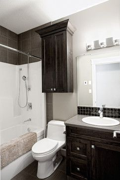 Custom Lacombe Family Home contemporary-bathroom
