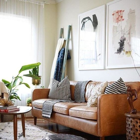Thay đổi không gian chỉ với bộ sofa da thật tphcm