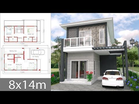 House Plans Idea 9x6 5 With 4 Bedroomsthe House Has Building Size M X M 9 00 X 6 50land Size Sq M 137l In 2020 Home Design Plans House Plans House Layout Plans