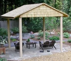 How You Can Protect A Wooden Gazebo From The Elements | Wooden Design Plans