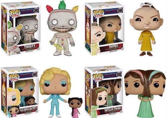 American Horror Story Freak Show Toys Coming Soon Freak