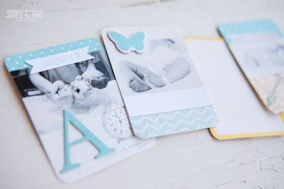 simple as that: Project Life 2013: a mini baby album