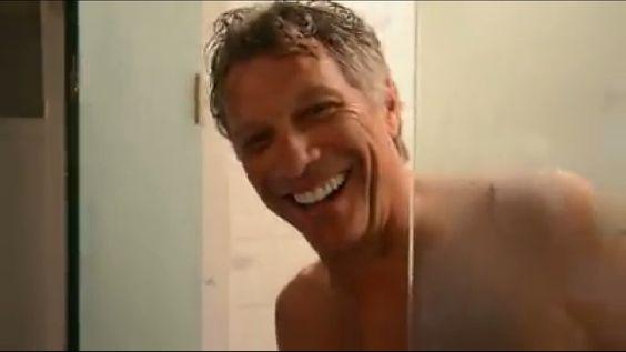 Jon Bon Jovi in the shower #ThisHouseIsNotForSale #THINFS