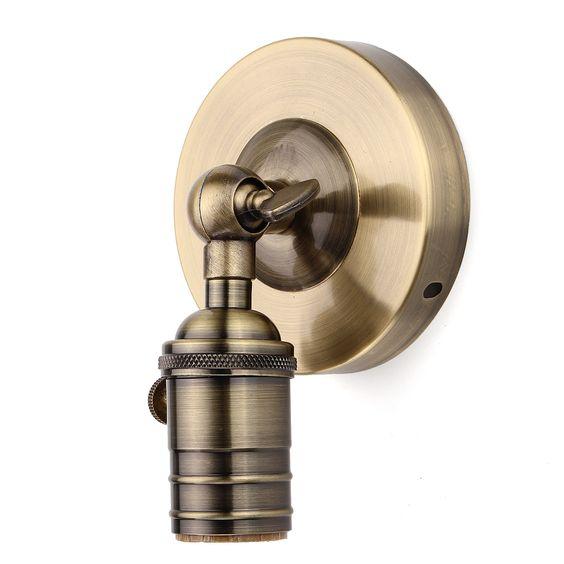 E27/E26 Modern Edison Vintage Ceiling Light Wall Lamp Bulb Holder Socket Sconce | Alex NLD