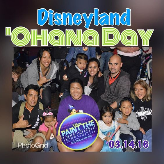 Happy Aloha Friday!!! Love when I can spend time with these ones! Seeing their excitement all day was priceless. #ohana #ohanameansfamily #reasonsforhilo #hilomonkeys #theycallmecousinkuulei #samiralynn #paintthenightparade  #disneyland #thehappiestplaceonearth by hi_koolaid