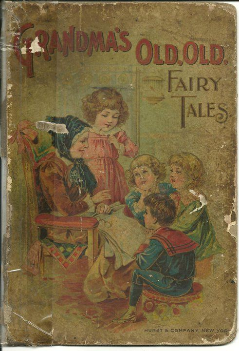 Old Fairytale Book Cover ~ Fairy tales fairies and vintage on pinterest
