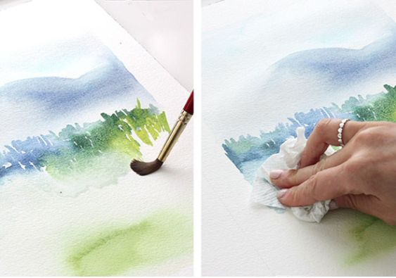 The alison show watercolor tutorial part 3 mark making for Watercolor tutorial