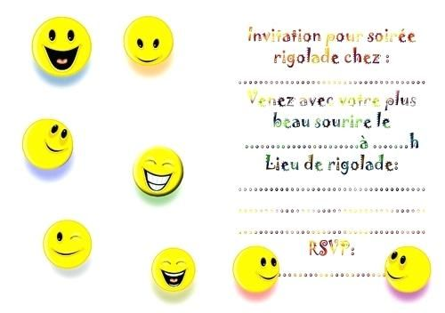 Carte Invitation Anniversaire Smiley Gratuit Carte Invitation Anniversaire Anniversaire Smiley Carte Invitation