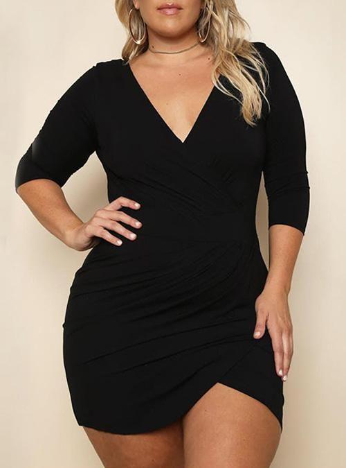 Trendy Plus Size Club Dresses