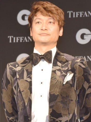 『GQ MEN OF THE YEAR2017』受賞時の香取慎吾