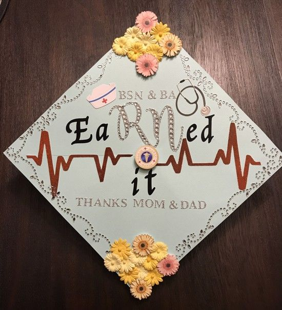 33 Incredibly Perfect Bsn Graduation Cap Decorations Bsn Graduation Cap Nurse Graduation Cap College Graduation Cap Decoration