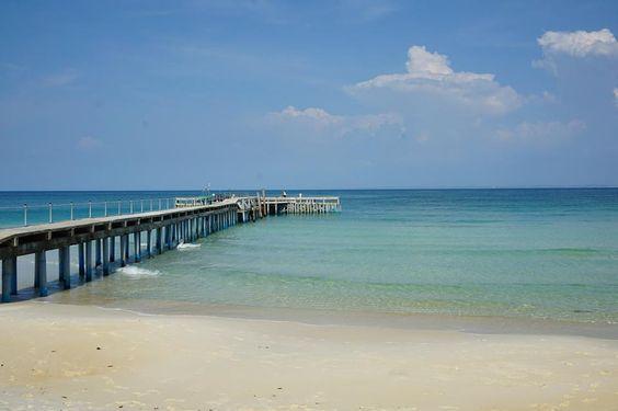 Cảnh đẹp trên bãi biển Coconut