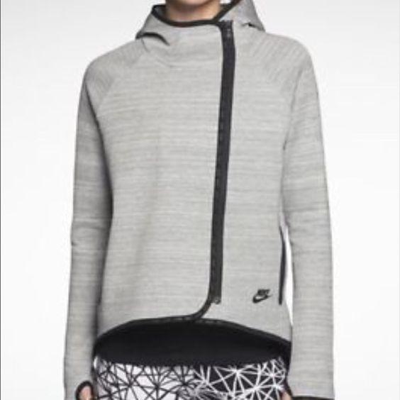 Nike Tech Fleece Cape Hoody NWT | Coats, A lady and Fleece jackets