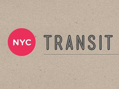 NYC Transit logo by Jan Cantor