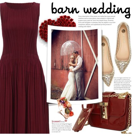 Best Dressed Guest: Barn Weddings by beebeely-look on Polyvore featuring River…