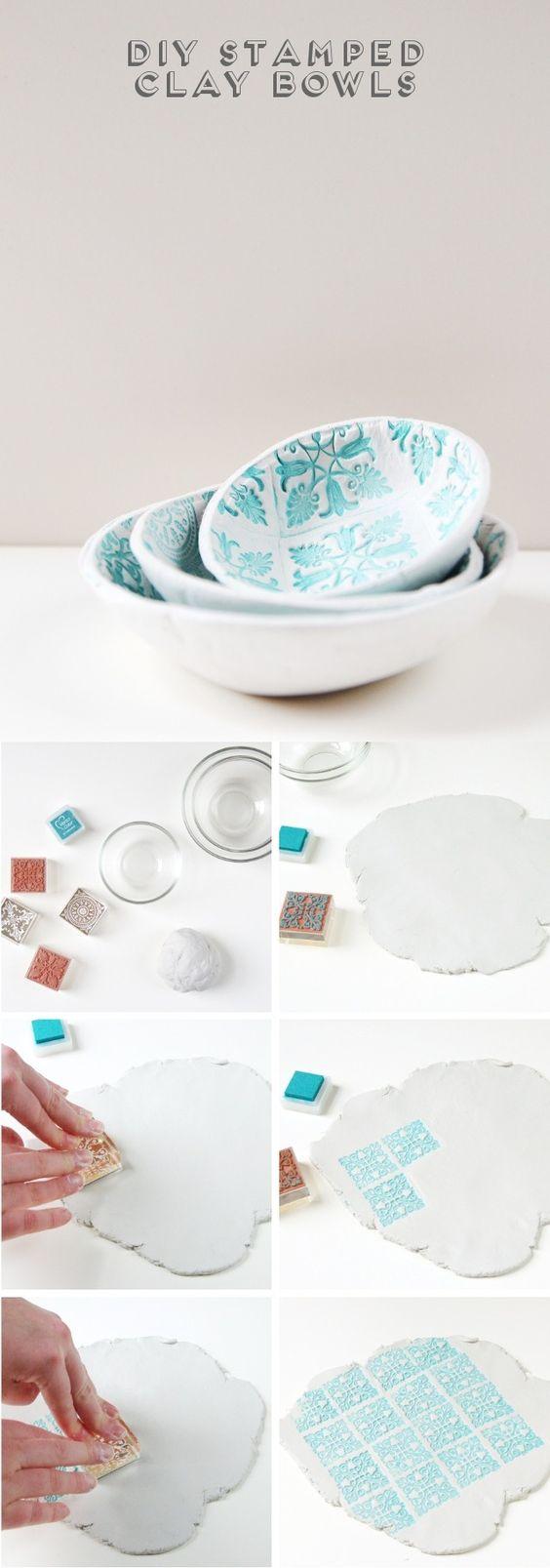 Fabrica tus propios bowls de arcilla