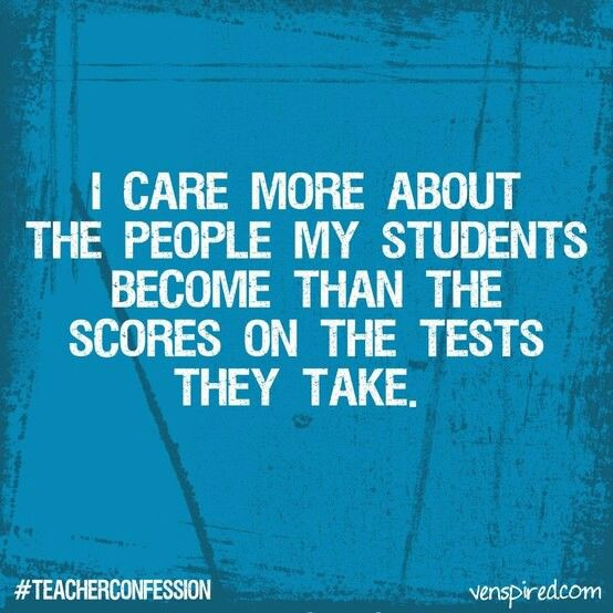 Image result for quotes about students being more than a test