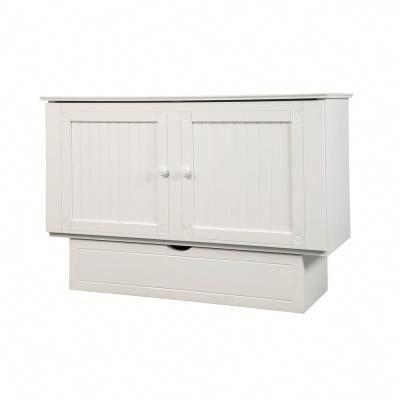 Murphy Cabinet Bed, Traditional Pekoe Queen Creden Zzz Cabinet Bed