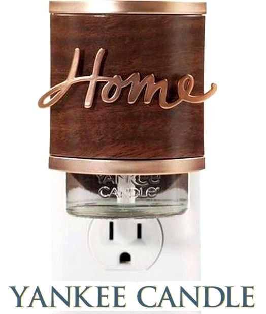 Yankee Candle Home Bronze Scent Plug In Fragrance Oil Electric Base Diffuser New Yankeecandle Yankee Candle Yankee Candle Decor Bottle Opener Wall