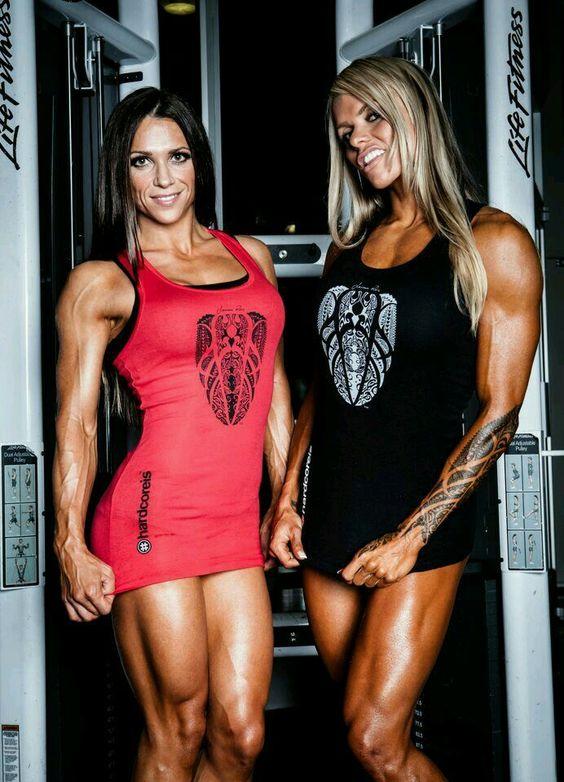 Oksana Grishina and Larissa Reis