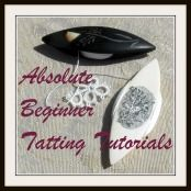 Absolute Beginner Tatting Series — Twenty Easy Lessons #DIY #needlework #shuttle #tat #tatting #tutorial