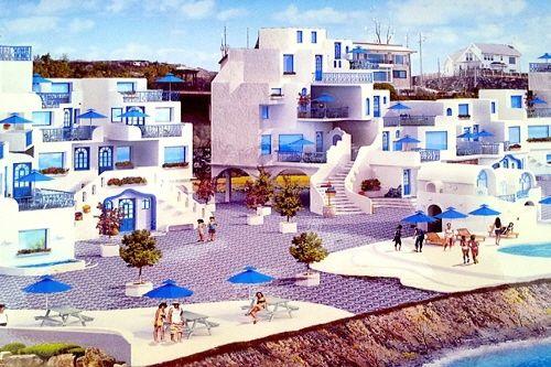 Khu nghỉ dưỡng mang tên Happy House Santorini