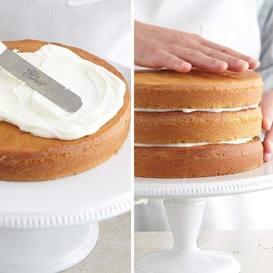 How to make a cake cakes frostings and layer cakes for How to make a vanilla cake from scratch