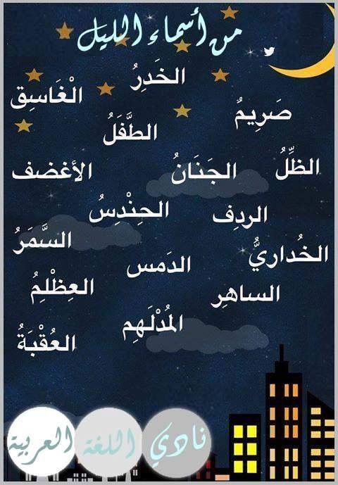 Pin By Soso On أسماء في اللغة Beautiful Arabic Words Learning Arabic Arabic Language