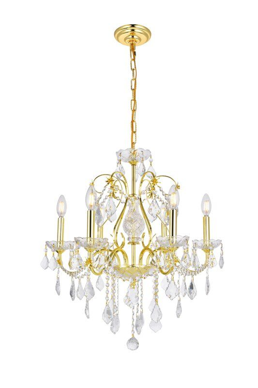 Diogo 6 Light Candle Style Classic Traditional Chandelier With Crystal Accents Traditional Chandelier Candle Styling Crystal Chandelier Bedroom