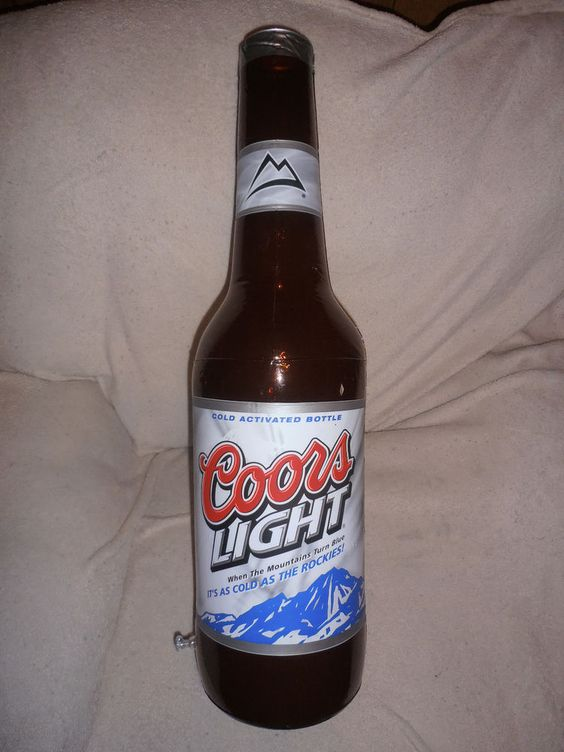 Coors and Coors Light Hanging Inflatable Bottle | EBAY: My ...