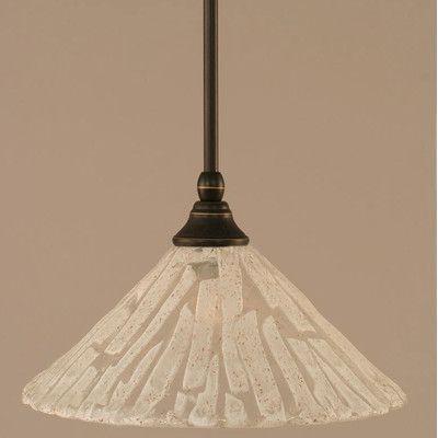 Toltec Lighting Stem Mini Pendant With Hang Straight Swivel Finish: