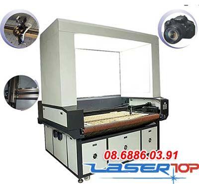 Máy khắc camera toàn diện 1-2 đầu cắt tự động lên liệu 80 – 130W